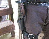 Leather Flintlock Leg Hol...