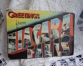 Vintage Niagara Falls Accordian Style Postcard