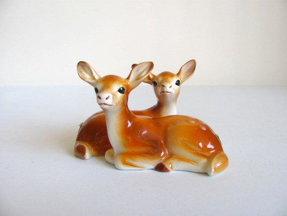 Norcrest Fawns Salt and Pepper Shakers