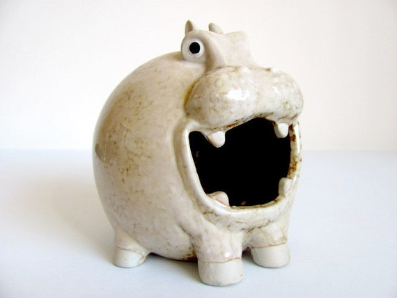 Hungry Hippo Toothbrush HOlder