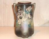 Dragonware Vase : Vintage Asian Vase