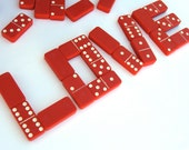 RESERVED - Red Dominoes : Double Six