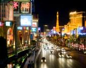 Las Vegas Print, Travel Photograph, Las Vegas Strip, Viva Las Vegas, Bright Lights, City, Las Vegas Home Decor