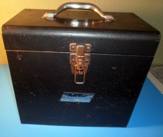 Industrial Rusty Chic Metal Storage Box