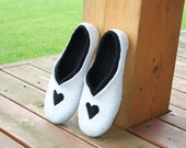 Felted slippers In love...