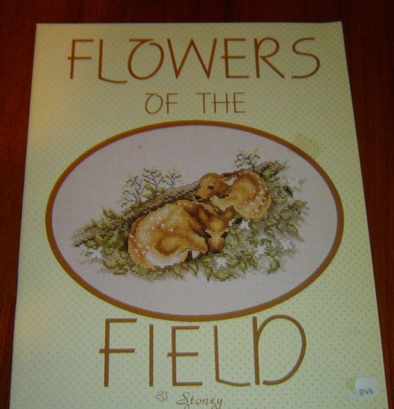 FLOWERS of The FIELD...Stoney Creek Pattern Booklet