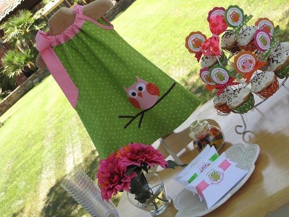 Owl Party Dress