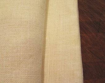 Two Yards of 100% Hemp Fabric, Linen like, Natural, Green Fiber, Off White Color, Washable, Dyeable, Durable, from Mateacogreen