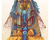 Kings Roar - Color Art print
