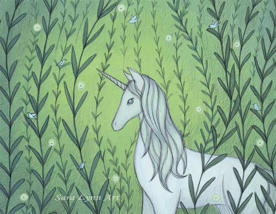 The Unicorn - Matte Art Print