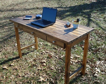 Reclaimed Wood Desk Office Desk Executive Desk Reclaimed Wood Desk