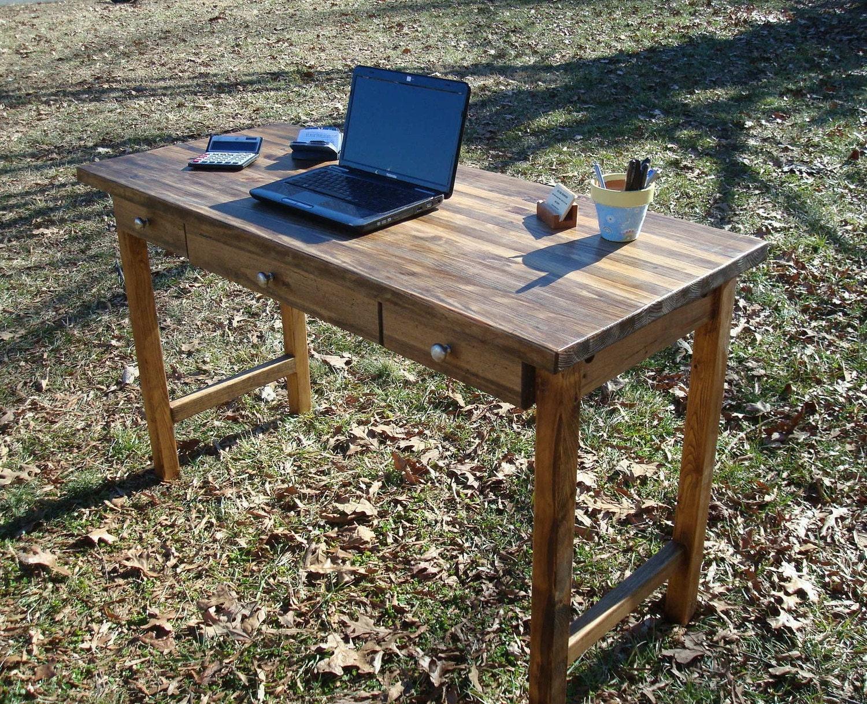 Reclaimed wood desk office desk executive desk reclaimed wood - Reclaimed wood office desk ...
