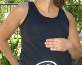 Help Let me out - funny personalized maternity shirt