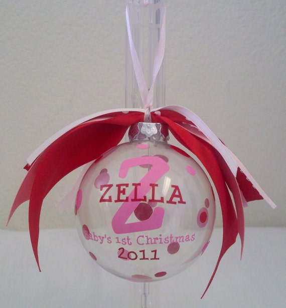 items similar to baby u0026 39 s first 1st christmas personalized