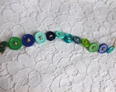 Button Bracelet- Mermaids
