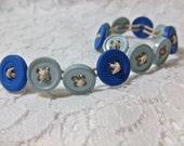 Ravenclaw- Button Bracelet