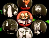 Dracula - Set of 7 - 1 inch pinback buttons