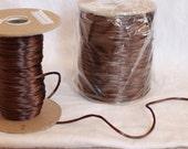 Spool of Brown Satin cord