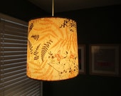 For Gretchen Millsaps the Vintage Butterfly and Ferns Drum Shade and Cord Kit