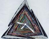 Triangular Paper Clock