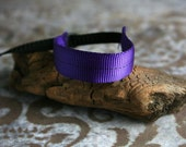 New Color - Purple and Black DSLR Wrist Strap Camera Strap