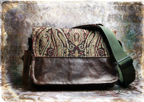 IN Stock -  NEW Large sized Canvas and Leather DSLR Camera Bag