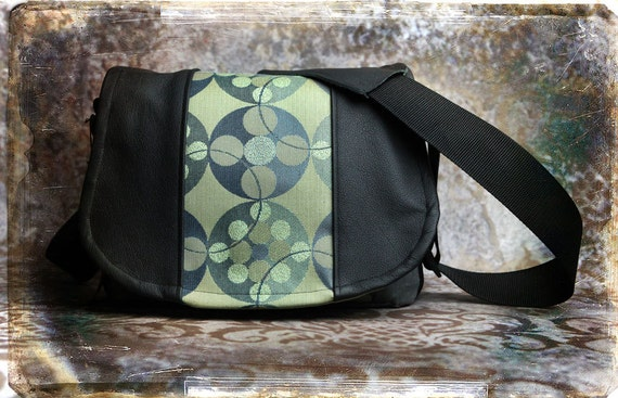 Leather Camera Bag - Geometric Medium DSLR - Pre-Order