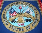 Patriotic US Army (1yd-panel)