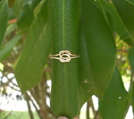 Love Knot Ring. Lover's Knot Ring. Love Ring.