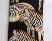 Zebras Gone Wild eyeglass case