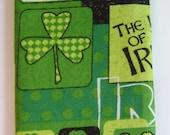 Luck of the Irish Eyeglass and sunglass case