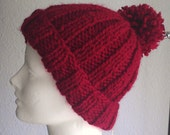 Red as Red Soft Knit Hat