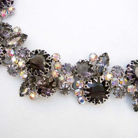 Juliana Black Diamond and Aurora Borealis Bracelet