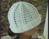 Crochet Ribbed Hat-PDF PATTERN