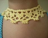 Spring Sweetheart necklace Crochet PDF Pattern