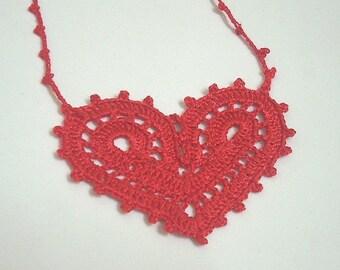 PDF PATTERN-Valentine Love Heart pendant