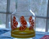 Vintage Liberty Orange Juice Carafe
