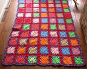 Beautiful Vintage Crochet Afghan