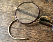 vintage wire rim spectacles