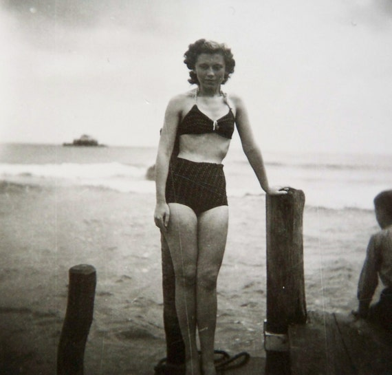 vintage photograph - stormy