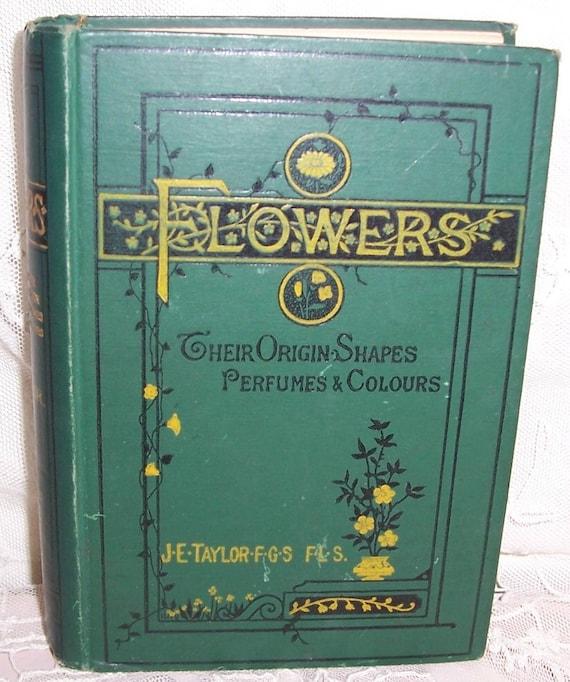 VICTORIAN Era Flower/GARDENING Book...Color Plates