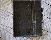 Black Fused Plastic Tablet Padfolio
