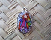 "Funny Virgin of Guadalupe Charm - "" I need you"" get me some extra money"