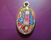 Virgencita Charm - Give me protection and happiness