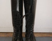 Vintage Doc Marten Knee High Boots