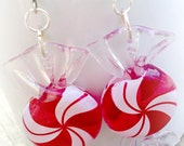 Christmas Earrings Teen Girl Jewelry Peppermint Holiday Jewelry Christmas Gift