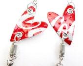 Teen Girl Jewelry Upcycled Coca Cola Teen Girl Gift Earrings Trending Now Top Selling Items Tween Girl Gift - E49