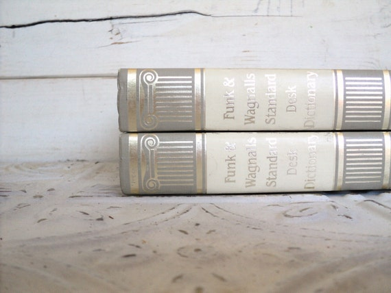 White, Silver Gray Books Instant Library Collection Vintage Decorative Book Bundle Photography Props Cream, Off White, White Wedding Neutral