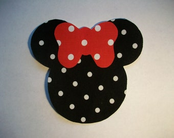 Minnie Mouse Applique - Iron On