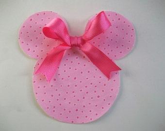DIY Iron-On Minnie Mouse Applique -